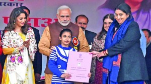 Government launches two schemes empowering girls