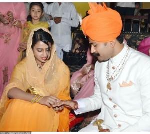 Karni Singh and Padmini