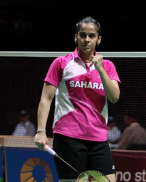 Saina in All England