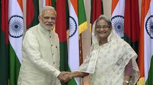 Modi and Shaikh Hasina