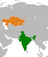 India-Kazakhstan