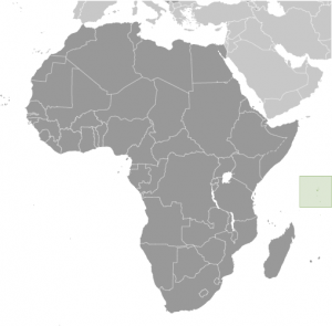 Location of Seychelles