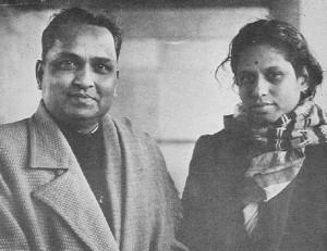 Vasundhara Komkali with Kumar Gandharva