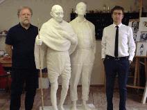 Gandhi's Statue in Luthiania