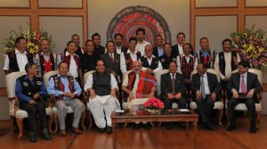 Union Government signed historic peace accord with NSCN (I-M)