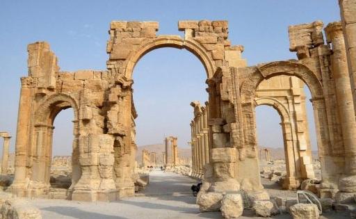 Arch of Triumph in Palmyra