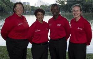 From-Left-Sue Redfern-Kathleen Cross-Jacqueline Williams-Claire Polosak