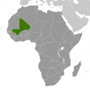 Mali-Location-Map