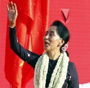 Suu Kyi's party won historic majority in Myanmar polls