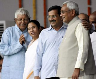 Nitish Kumar sworn in as a Bihar's CM for the fifth time