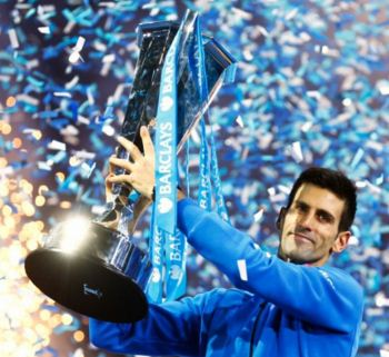 Novak Djokovic won ATP tour finals for fourth time.