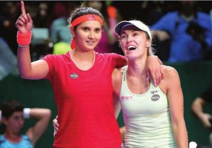 Sania Mirza-Martina Hingis win women's doubles title of Singapore Open