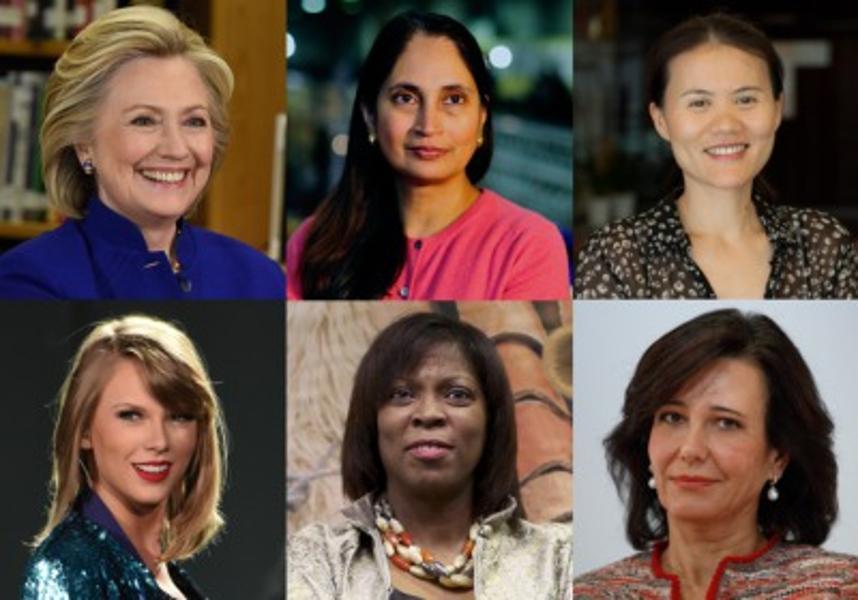 the World's 100 Most Powerful Women 2015 list