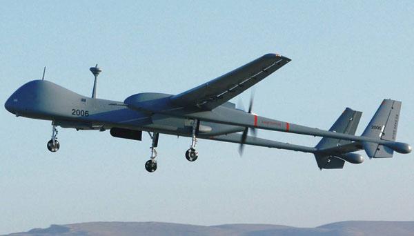 Heron TP drones from Israel