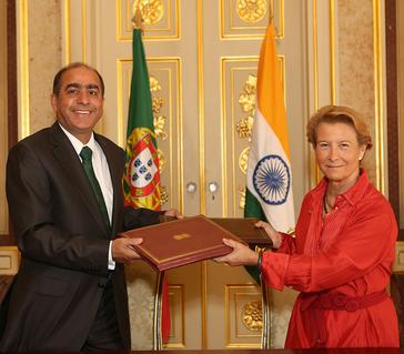 Portugal, India sign agreement on Nalanda University