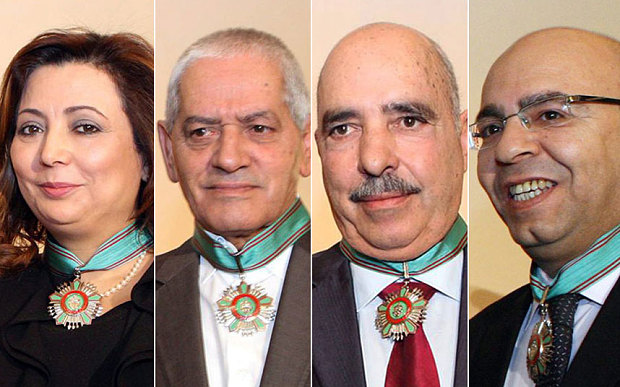 Leaders of the Tunisian National Quartet