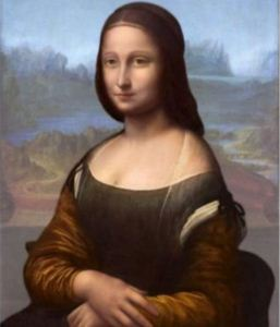 Hidden portrait found underneath Mona Lisa
