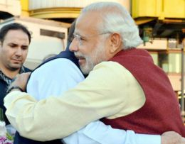 Narendra Modi made a surprise visit to Pakistan